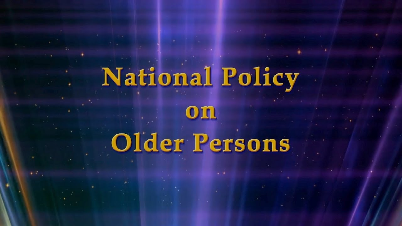 National Policy on Older Persons